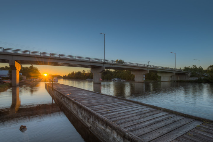 Bridge at Dawn